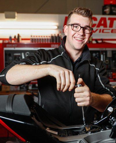 Arno - Moto Puro Ducati Nuenen
