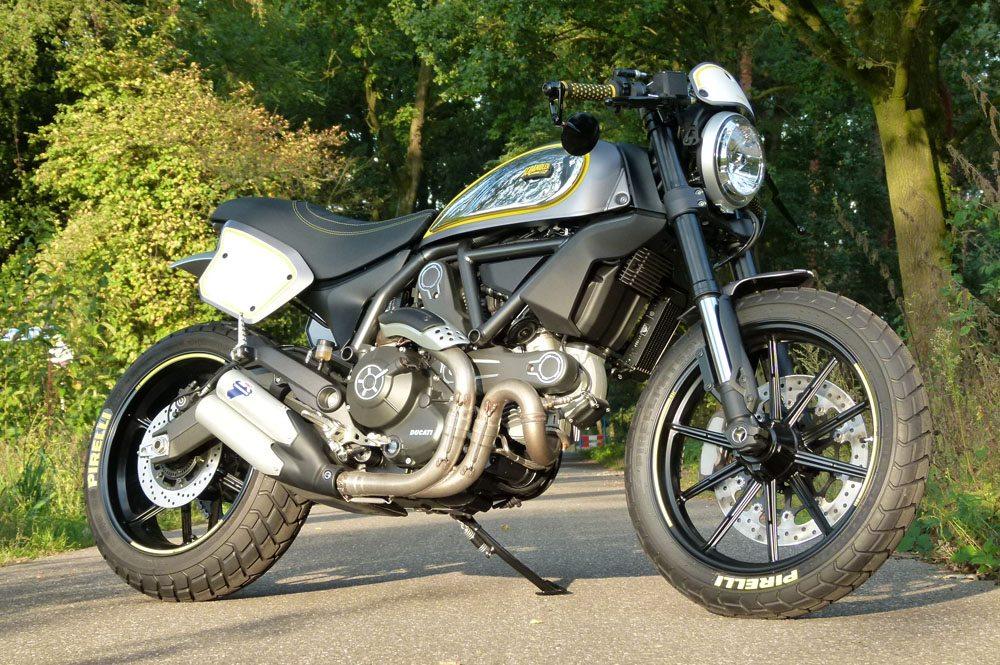 Moto Puro Ducati Scrambler Special Edition - Moto Puro Ducati Nuenen